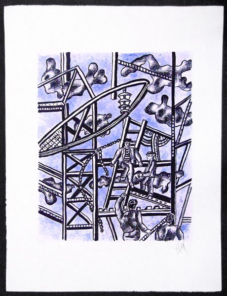 Fernand Léger, The Builders, 1951