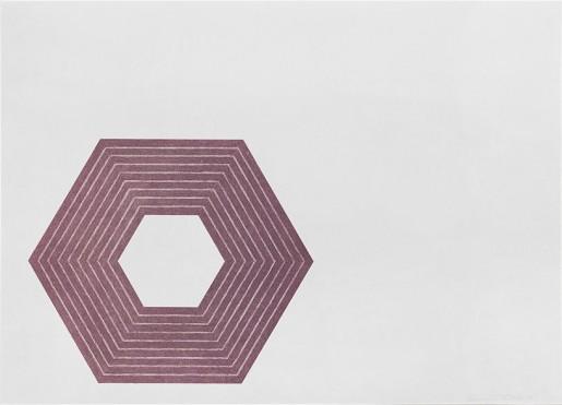 Frank Stella, Sidney Guberman, 1972