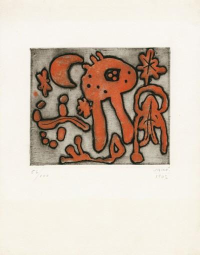 "From ""The prints of Joan Miró"" (Michel Leiris) by Joan Miró"