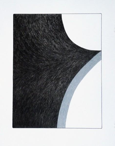 Ulrike Müller, Print (Franza) - Grey, 2014