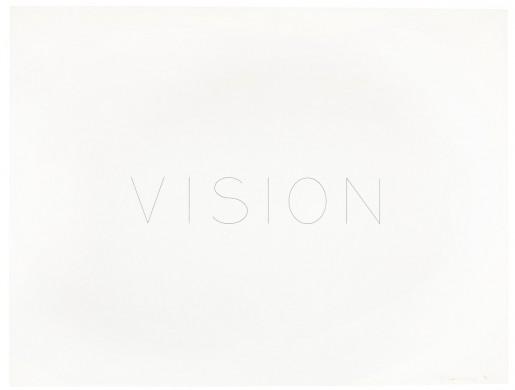 Bruce Nauman, Vision, 1973