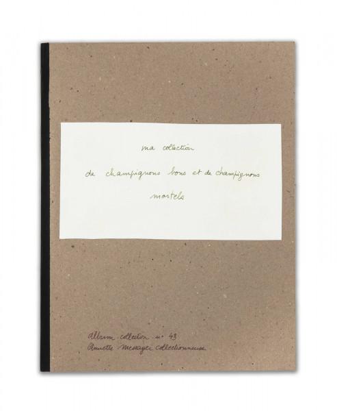 Annette Messager, Ma Collection de Champignons Bons et de Champignons Mortels, 1973-2011