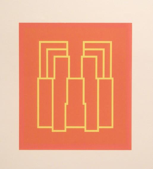 Robyn Denny, Portraits (Series A), I, 1973