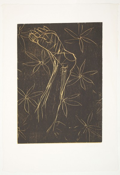 Normalfuss I by Georg Baselitz