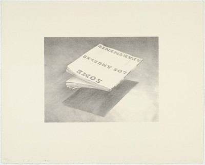 Ed Ruscha, Some Los Angeles Apartments - from the Book Covers series, 1970