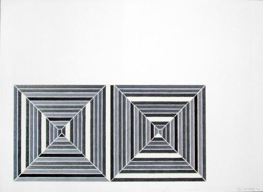 Frank Stella, Les Indes Galantes III, 1973