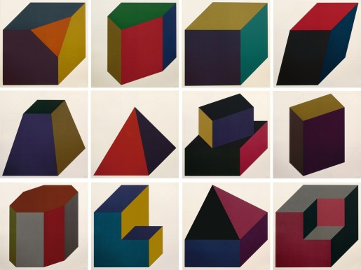 Sol LeWitt, Forms Derived from a Cube, 1991