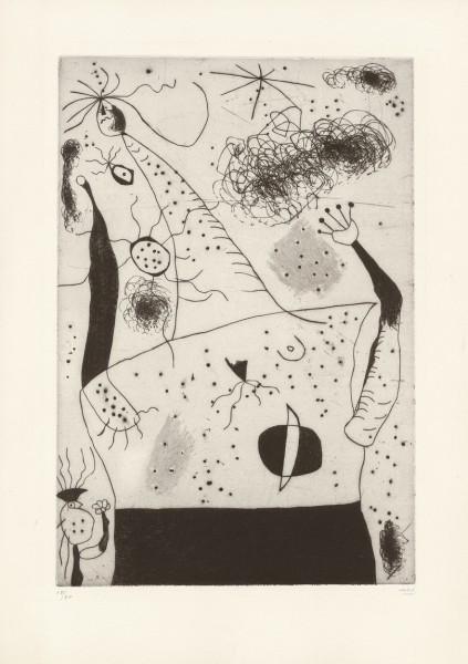Joan Miró, La géante, 1938