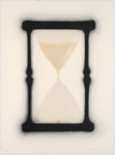 Ed Ruscha, Reloj de arena, 1988