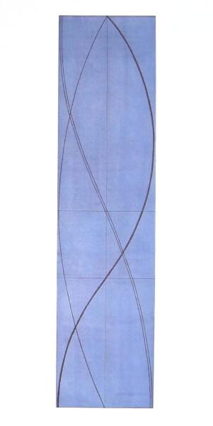 Robert Mangold, Half Column A (Light Blue), 2005