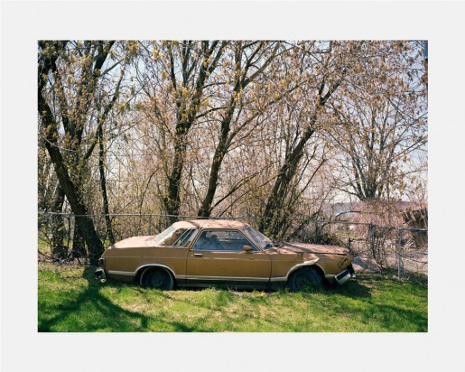 Dawin Meckel, car, Detroit from DownTown - Detroit, 2009