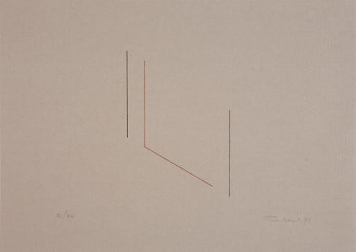 Fred Sandback, Untitled (Jahn #84), 1981