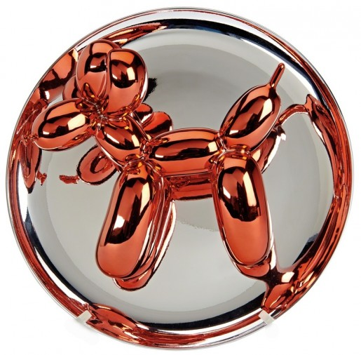 Jeff Koons, Balloon Dog (Orange), 2016