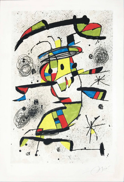 Joan Miró, El Dancaire, 1979