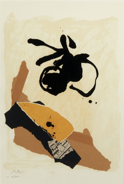 Robert Motherwell, Untitled, 1986