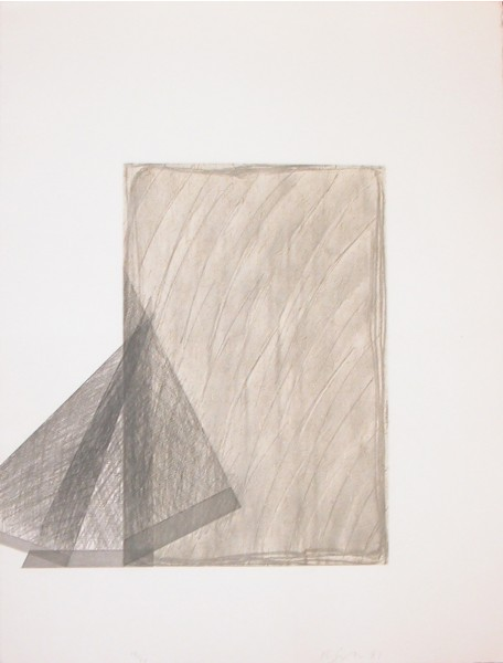 Richard Smith, Drawing Boards II: No.4, 1981