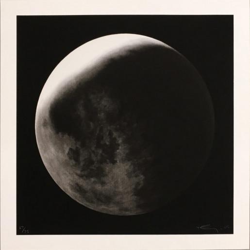 Robert Longo, Untitled (Moon in Shadow), 2006