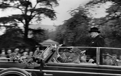 René Burri, Churchill on His Visit to Zurich, Switzerland, 1946