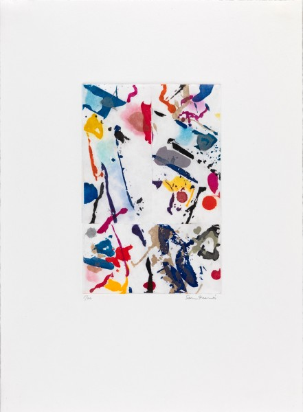 Sam Francis, Untitled, 1989