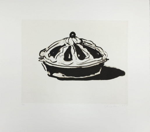 Wayne Thiebaud, Crown Tart, 2015