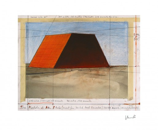 Christo, Mastaba of Abu Dhabi II, 1979