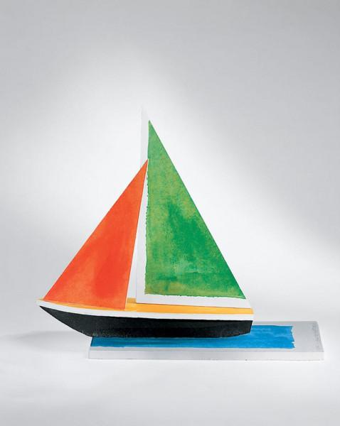 John Baldessari, Sailboat, 2008