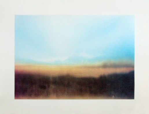 Gerhard Richter, Teyde Landscape | Teydelandschaft, 1971