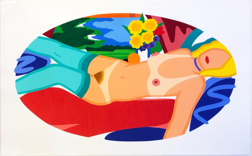 Tom Wesselmann, Beautiful Bedroom Kate, 1998