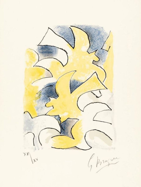 Georges Braque, Lettera Amorosa: Migration, 1963