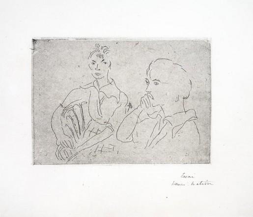 Henri Matisse, Double Portrait de Josette Gris, 1915