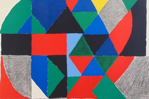 Sonia Delaunay, Polyphony, 1971