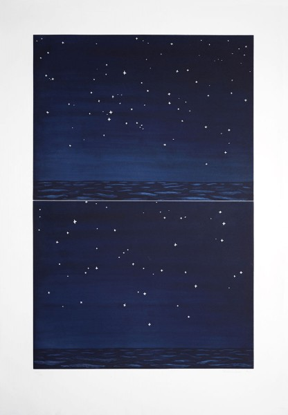 Richard Bosman, Night Sky, 1990