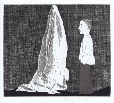 The Sexton Disguised as a Ghost (The Boy Who Left Home to Learn Fear) by David Hockney