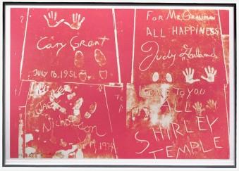 Sidewalk FS II.304 by Andy Warhol