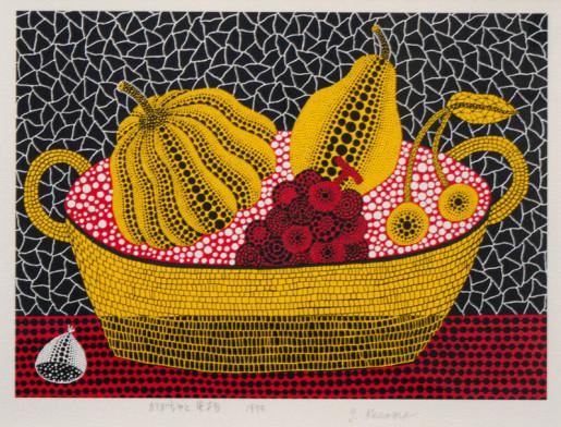 Yayoi Kusama, Pumpkin and Fruits, 1993