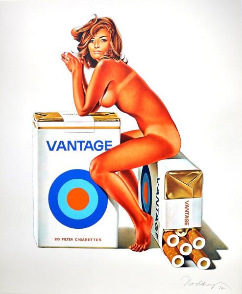 Mel Ramos, Tobacco Red / Vantage, 1972