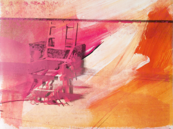 Electric Chair (FS II.81) by Andy Warhol