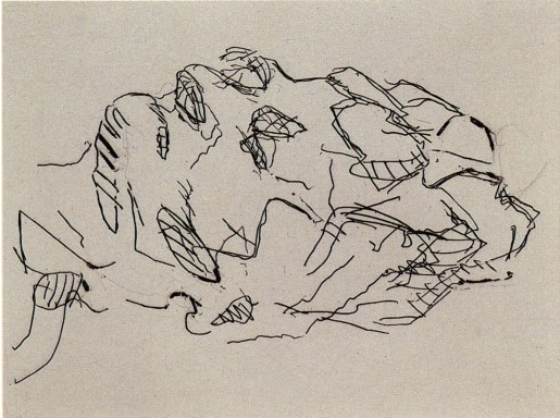 Frank Auerbach, Sleep, 2001