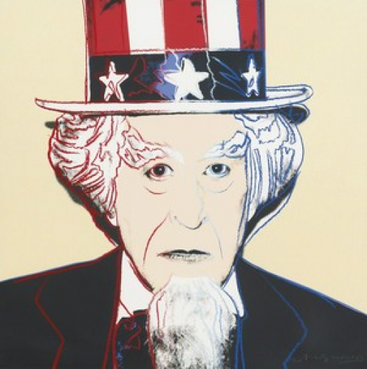 Andy Warhol, Uncle Sam (FS II.259), 1981