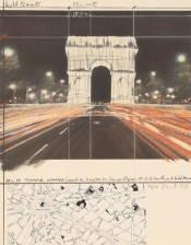 Arc de Triomphe, Wrapped (Project for Paris)