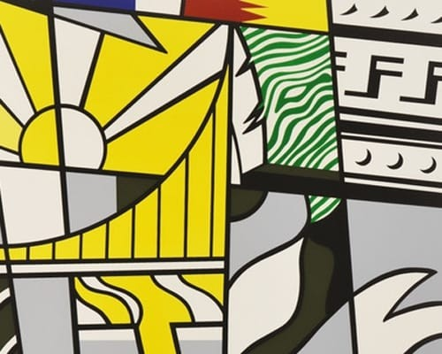 "Bicentennial Print, from the Portfolio ""America: The Third Century"" by Roy Lichtenstein"