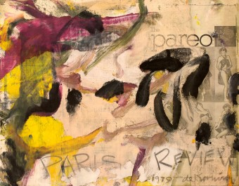 Paris Review by Willem de Kooning