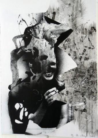 Lacuna Lotto by Charline von Heyl