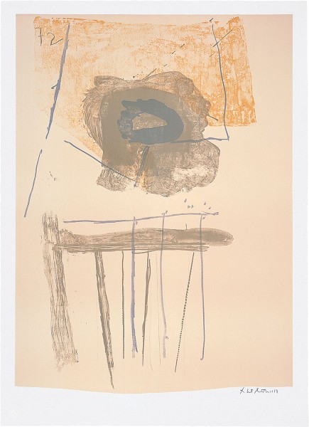 Robert Motherwell, Chair, 1972