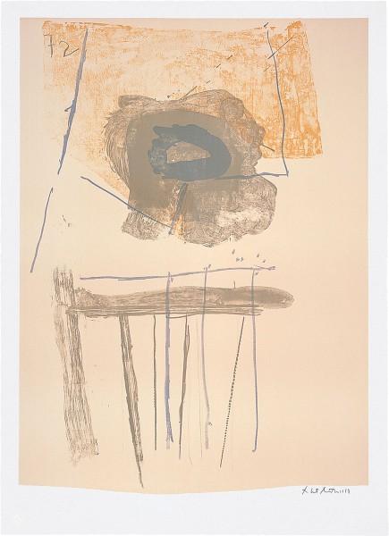 Robert Motherwell, Chair, 1972