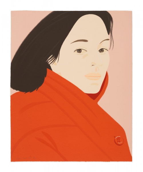 Alex Katz, Brisk Day II, 1990