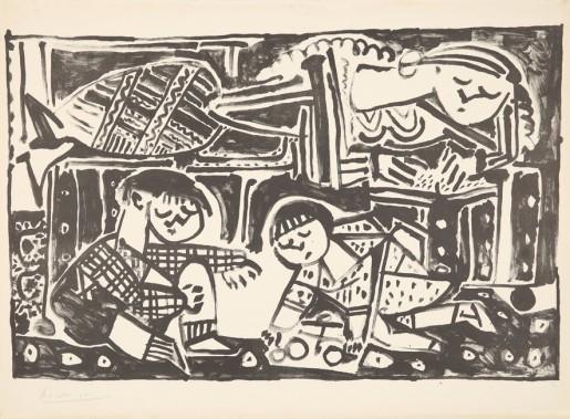 Pablo Picasso, La Mère et les Enfants, 1953