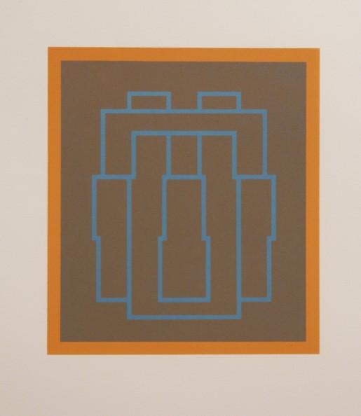 Robyn Denny, Portraits (Series B), II, 1970