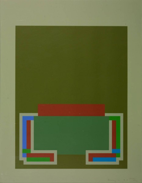 Robyn Denny, The Night Suite D, 1972
