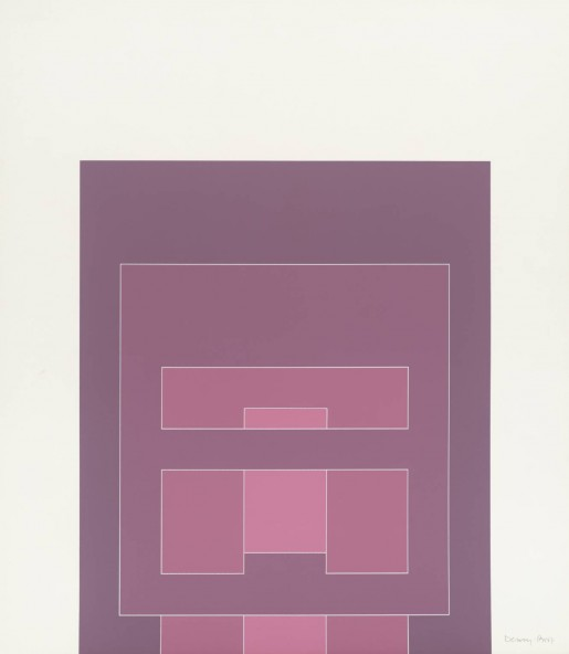 Robyn Denny, Waddington Suite (pink), 1968-69
